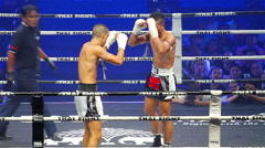 Boxing in Thailand Stock Footage