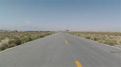 Gobi Desert Gansu China 10 Stock Footage