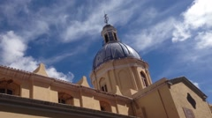 Tilt From The Basílica De Nuestra Señora De La Merced In Cordob Stock Footage