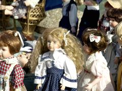 Old dolls Stock Photos