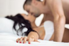 Couple having sex Stock Photos