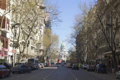 May avenue in buenos aires. Stock Photos