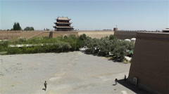 Jiayuguan Jiayu Pass Gansu Province China 13 Stock Footage