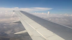 Flying above Bolivia Stock Footage