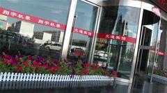 Jiayuguan Street Gansu Province China 87 - stock footage