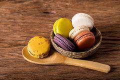 Macaron or gerber Stock Photos