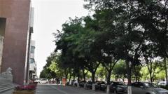 Jiayuguan Street Gansu Province China 94 - stock footage