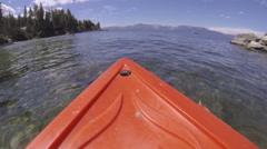 Kayak POV Adventure Stock Footage