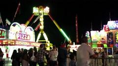 Teton County Fair in Jackson, WY 2014 Stock Footage