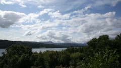 Windermere lake on a good day Stock Footage
