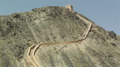 The Great Wall of China in Jiayuguan Gansu China 5 Stock Footage