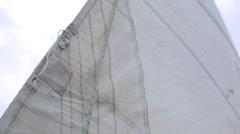 Main Sail Stock Footage