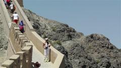 The Great Wall of China in Jiayuguan Gansu China 9 Stock Footage