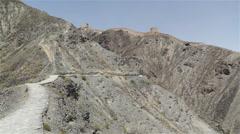 The Great Wall of China in Jiayuguan Gansu China 14 Stock Footage