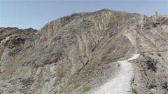 The Great Wall of China in Jiayuguan Gansu China 15 pan Stock Footage