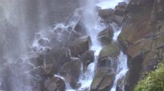 Narada Falls Rock Stock Footage