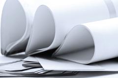 Stationery sheets Stock Photos