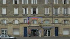 Tabac shop - Bordeaux France - HD 4k+ Stock Footage