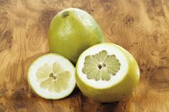 pummelos or pomelos - stock photo