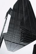 Multi-layered effect of corporate skyscraper Stock Photos