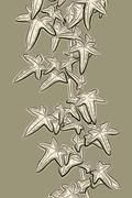 Ivy sketch Stock Illustration