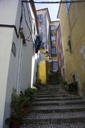 Narrow lane, sintra, portugal, europe Stock Photos