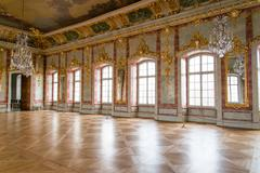 ball hall in a palace - stock photo