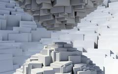 Cubic abstract Stock Photos