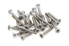 Pozi drive self-tapping screws Stock Photos