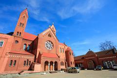 Sts. simeon and elena roman catholic church Stock Photos