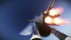 Aircraft - Space Shuttle - stock footage