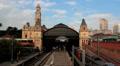 Beautiful train station, Estacao Luz, Sao Paulo, Brazil - 19th Century building HD Footage