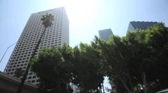 Downtown Los Angeles - stock footage