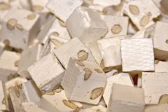 White nougat Stock Photos