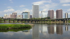 Richmond, Virginia, USA (Timelapse) - stock footage