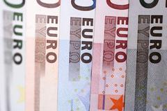 euro-bills - stock photo