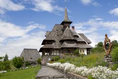 Barsana Monastery, Romania Stock Photos