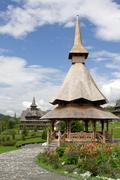 Barsana Monastery, Romania - stock photo