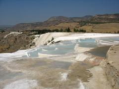 pamukkale turcia - stock photo