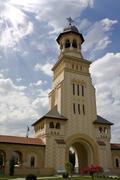 Alba Iulia Cathedral, Romania Stock Photos