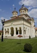 Alba Iulia Cathedral, Romania - stock photo