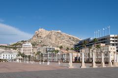 Stock Photo of cityscape of alicante