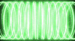 Green Light Element Stock Footage