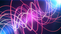 Neon Glow Lines Stock Footage
