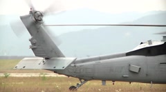 Helicopters  Island Knights Train for Special Operations Support Missions - stock footage