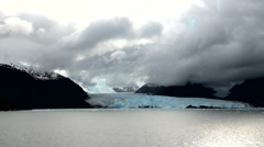 Chile - South Patagonia - Amalia Glacier Stock Footage