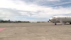 CP-140 Aurora  Canadian Air Force Aircraft Arrive at Marine Corps Base Hawaii Stock Footage