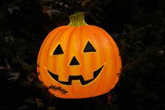 Halloween lantern Stock Photos