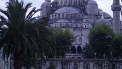 Sultan Ahmet Mosque. Blue Mosque in Istanbul Stock Footage