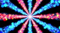 Space Colorful Dot BE1b HD Footage